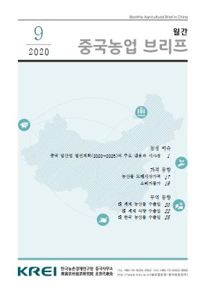 중국농업브리프 (2020.9) : 중국 말산업 발전계획(2020~2025)의 주요 내용과 시사점