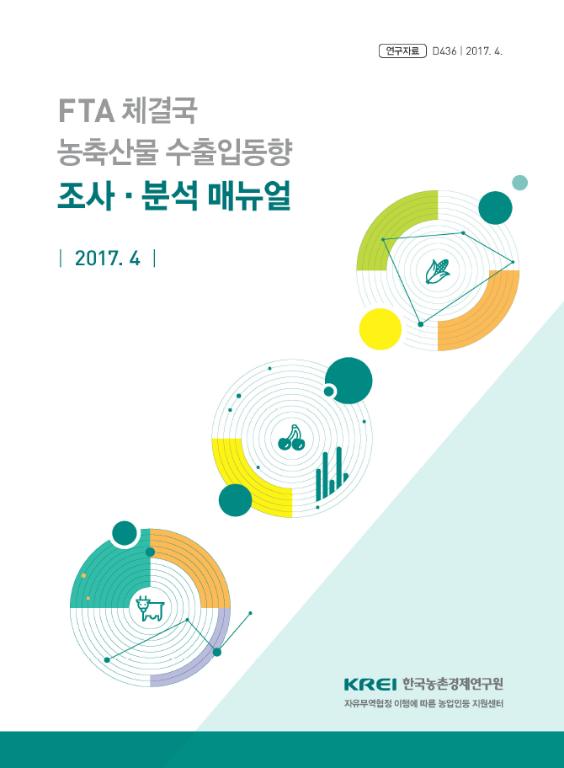 FTA 체결국 농축산물 수출입동향 조사・분석 매뉴얼