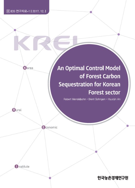 An Optimal Control Model of Forest Carbon Sequestration for Korean Forest sector